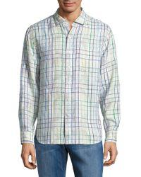 Tommy Bahama - Tulum Terrace Linen Button-down Shirt - Lyst