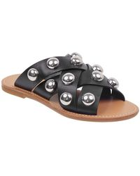 Marc Fisher - Raidan Stud Leather Sandals - Lyst