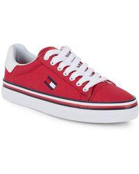 d82d07d4 Tommy Hilfiger - Fressian Canvas Sneakers - Lyst