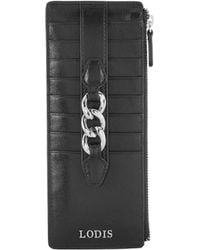 Lodis - Rodeo Chain Credit Card Case With Zipper Pocket - Lyst