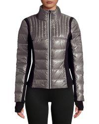 BLANC NOIR - Reflective Puffer Jacket - Lyst