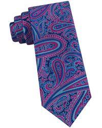 Ted Baker - Oversized-paisley Silk Tie - Lyst