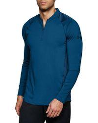 Under Armour - Quarter Zip Shirt - Lyst