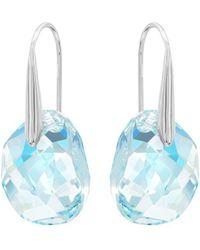 Swarovski - Galet Crystal Drop Earrings - Lyst