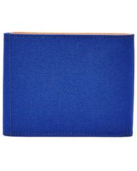 Fossil - Rfid Bi-fold Leather Wallet - Lyst