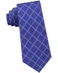 Michael Kors - Silk City Grid Tie - Lyst