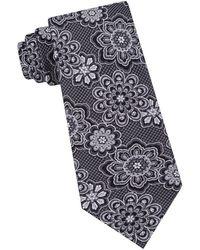 Ted Baker - Textured Floral Silk Tie - Lyst