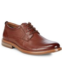 Steve Madden - Oakes Leather Derby Shoes - Lyst