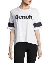 Bench - Cropped Cotton Tee - Lyst
