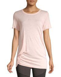 Marc New York - Asymmetrical Knotted Tee - Lyst