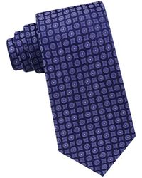 Calvin Klein | Geometric Silk Tie | Lyst