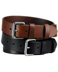 Polo Ralph Lauren - Officer Leather Belt - Lyst