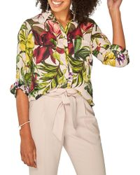 Dorothy Perkins - Tropical Printed Blouse - Lyst