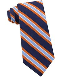 Lord & Taylor - Repp Stripe Silk Tie - Lyst