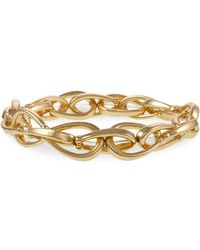 Laundry by Shelli Segal - Montebello Metals Goldtone Chain Link Bracelet - Lyst
