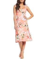 000b8daf9da6 Dress the Population - Hana Floral-print A-line Dress - Lyst
