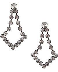BCBGeneration - Ballroom Glitz Faceted Crystal Statement Earrings - Lyst