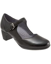 Softwalk - Irish Ii Leather Mary Jane Court Shoes - Lyst