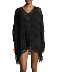 Amita Naithani - Crochet-trimmed Cover-up Caftan - Lyst