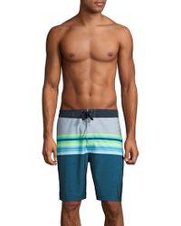Hurley - Phantom Solace Striped Swim Shorts - Lyst