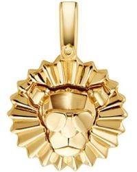 Michael Kors - Sterling Silver Lion Charm - Lyst