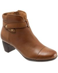 Softwalk - Ivanhoe Leather Booties - Lyst