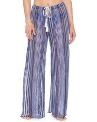 Becca - Pierside Sheer Trousers - Lyst