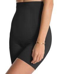 Spanx - Oncore High-waist Mid-thigh Shorts - Lyst