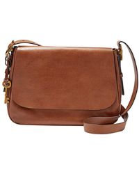 Fossil - Harper Leather Large Across Body Bag - Lyst