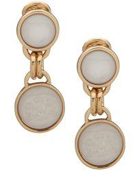 Lauren by Ralph Lauren Goldtone Clip-on Drop Earrings
