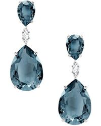 Swarovski - Vintage Drop Earrings - Lyst