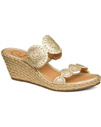 Jack Rogers - Shelby Espadrille Wedges - Lyst