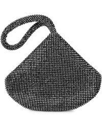 Jessica Mcclintock - Staci Sparkling Mesh Pouch - Lyst