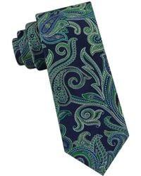 Ted Baker - Silk Paisley Tie - Lyst