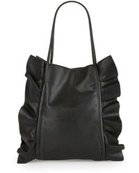 Lord & Taylor - Ruffled Tote - Lyst