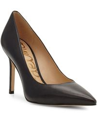Sam Edelman - Hazel Leather Court Shoes - Lyst