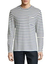 Lucky Brand - Long Sleeve Striped Tee - Lyst