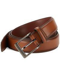 Perry Ellis - Leather Buckle Belt - Lyst
