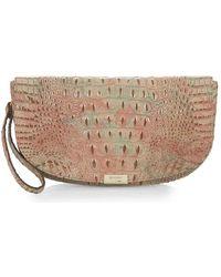 Brahmin - Sandrine Melbourne Leather Clutch - Lyst