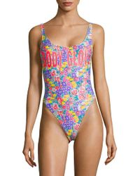 624b2b9098b Body Glove - Cant Touch This One-piece Floral Swimsuit - Lyst