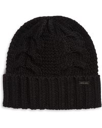 4e790cabbc9 Lyst - Michael Kors Link Cable Cuff Hat in Black for Men