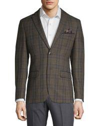 Tallia Orange - Slim-fit Wool Plaid Sportcoat - Lyst