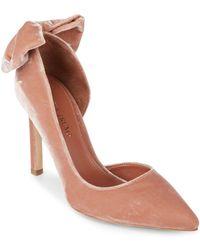 Ivanka Trump - Candi 2 Velvet Court Shoes - Lyst