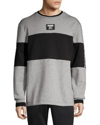 PUMA - Rebel Colorblock Pullover - Lyst