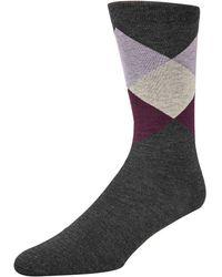Cole Haan - Printed Crew Socks - Lyst