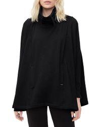 UGG - Pichot Fleece-lined Knit Poncho - Lyst