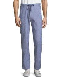 Perry Ellis - Lightweight Drawstring Trousers - Lyst