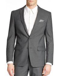 William Rast - Textured Suit Jacket - Lyst