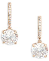 Kate Spade - Bright Ideas Crystal Drop Earring - Lyst