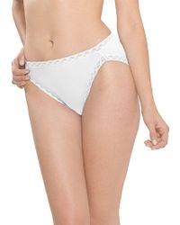 Natori | Bliss Cotton French-cut Bikini | Lyst